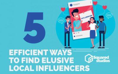 5 Efficient Ways to Find Elusive Local Influencers